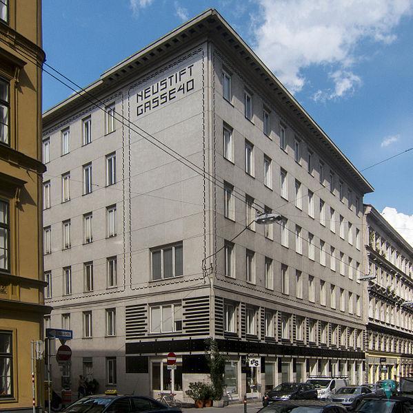 Edificio en Neustiftgasse 40