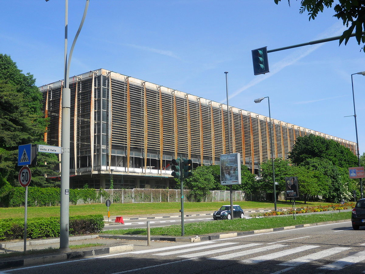 Palazzo del Lavoro (Palacio del Trabajo)
