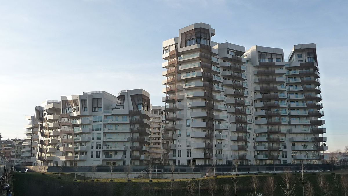 Residencias Citylife Libeskind