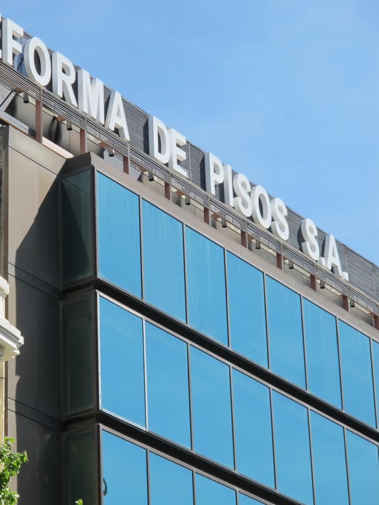 Edificio de oficinas en Serrano 38 (antiguo Banco Industrial de León)