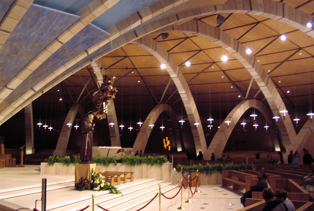 Iglesia de Peregrinación del Padre Pio