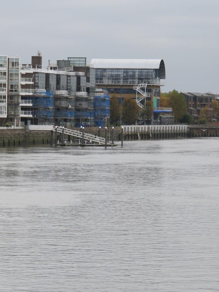 Estudios en Thames Wharf