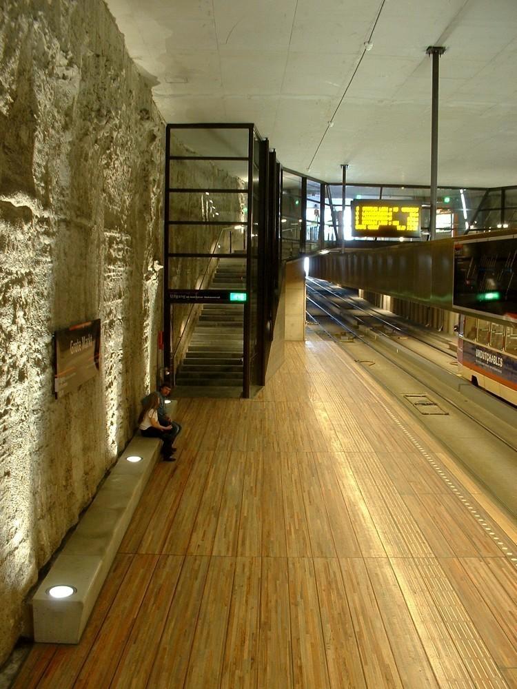 Tunel del tranvía subterráneo