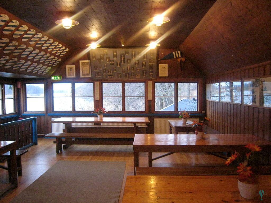 Club de remo y cobertizo para barcas en Djurgårdsbrunnsviken