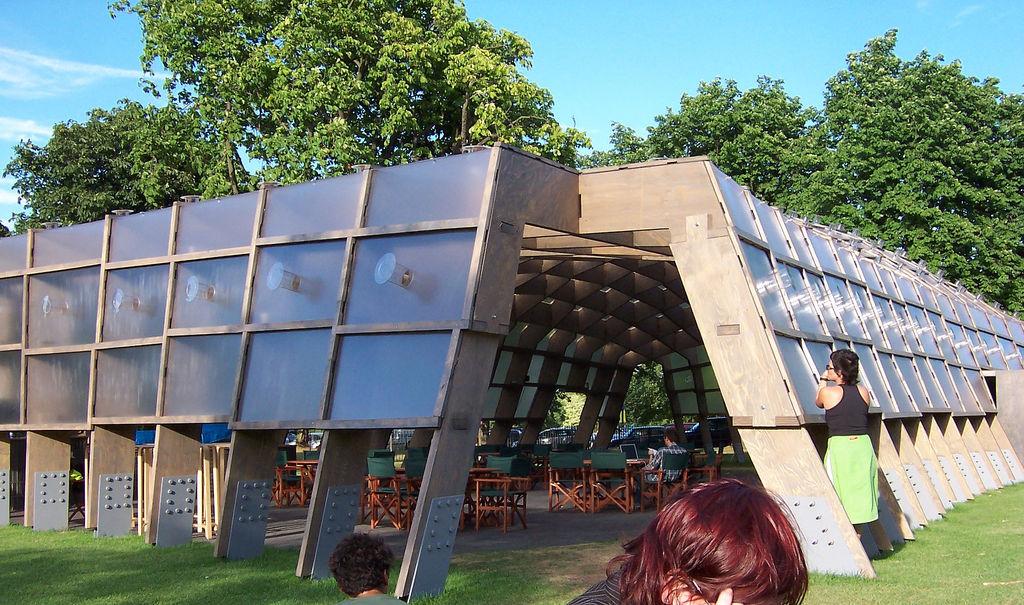 Pabellón de la Serpentine Gallery 2005