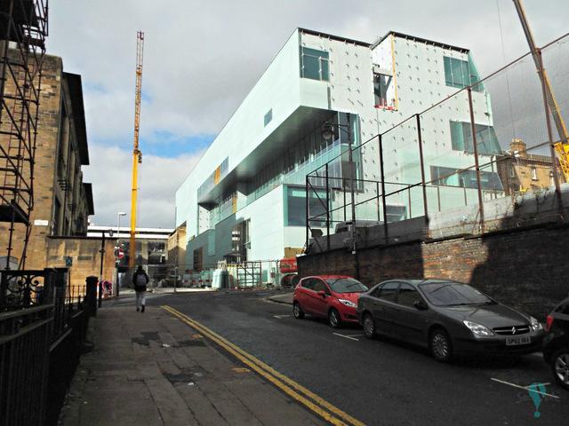 Ampliacion de la escuela de Arte de Glasgow