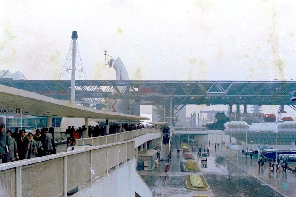 Plan de Ordenación de la Expo '70 y diseño maestro de los servicios troncales