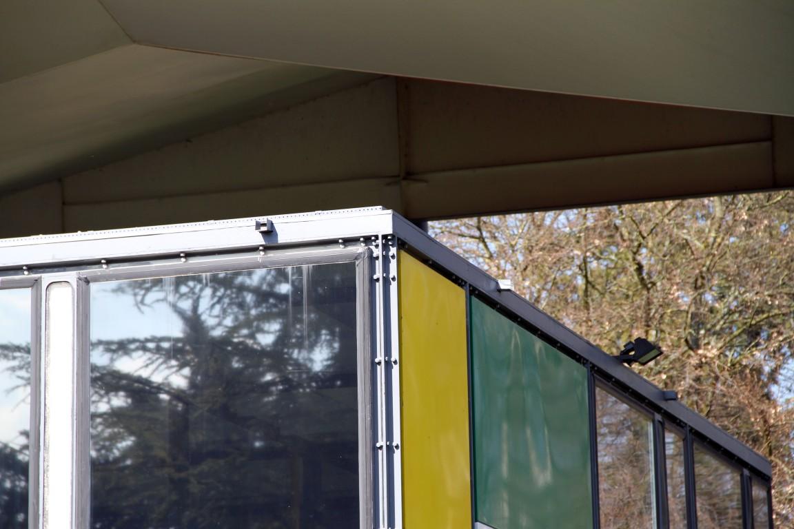 Pabellón de la exposición ZHLM (Centro Le Corbusier)