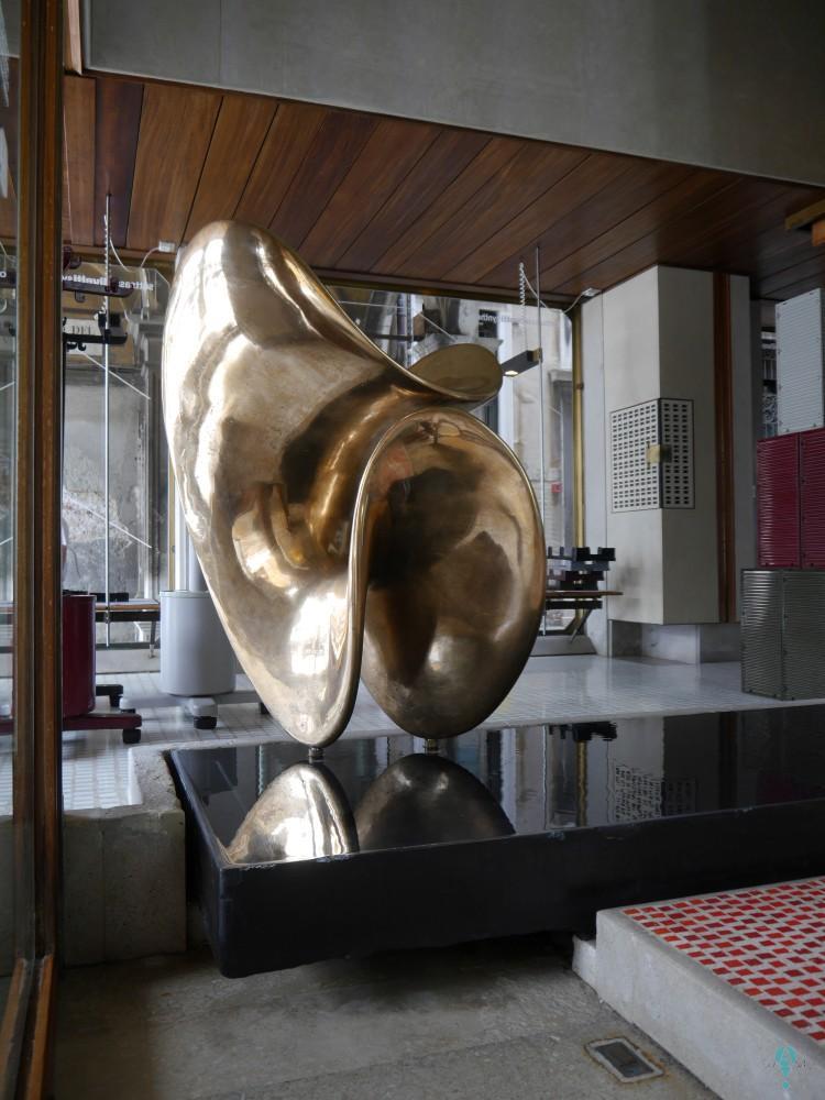 Sala de exposiciones de Olivetti