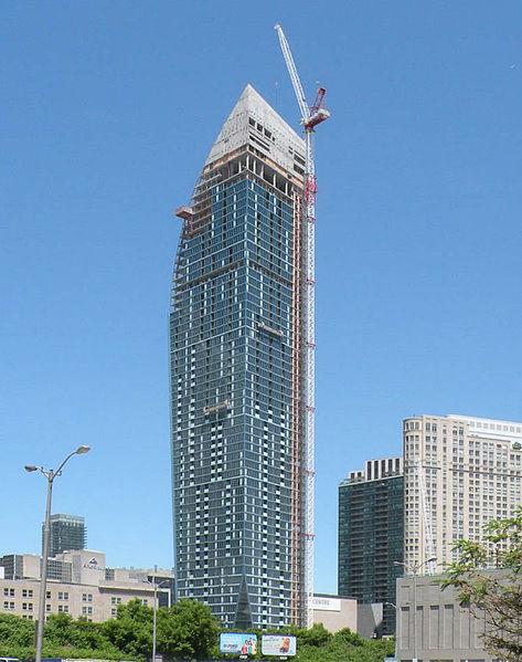 Torre L y Desarrollo del centro Sony de las artes escénicas