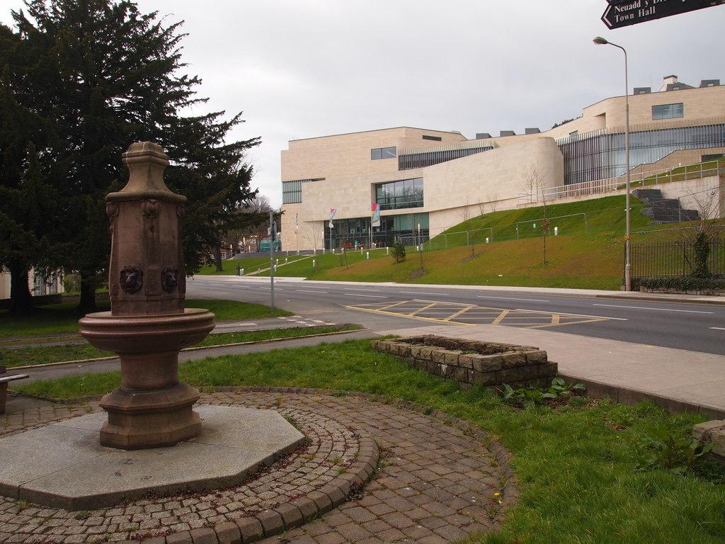 Centro de Arte e Innovación. Universidad de Bangor