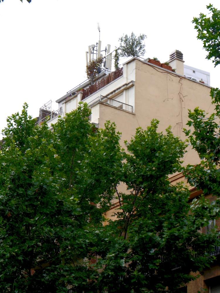 Edificio de Viviendas en el Paseo de las Delicias