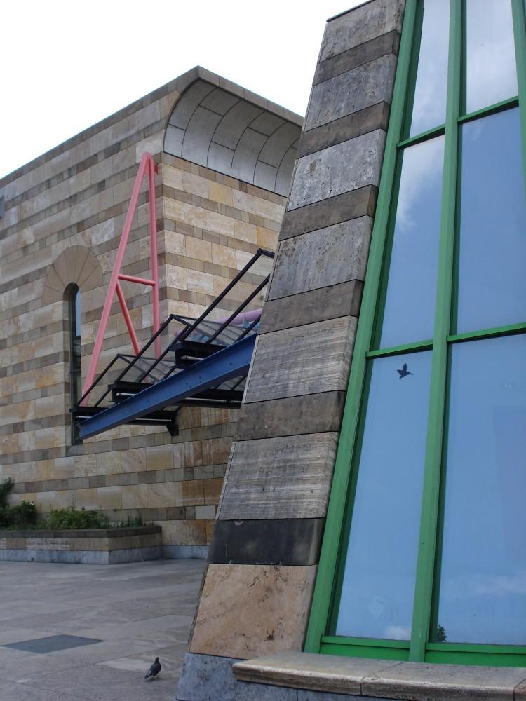 Nuevo edificio y teatro de cámara para la Galería Estatal (Staatsgalerie)