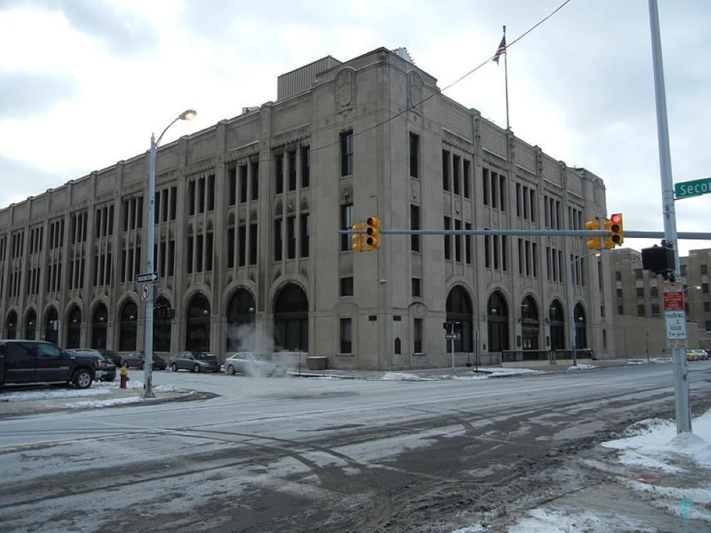 Edificio del periódico Detroit News