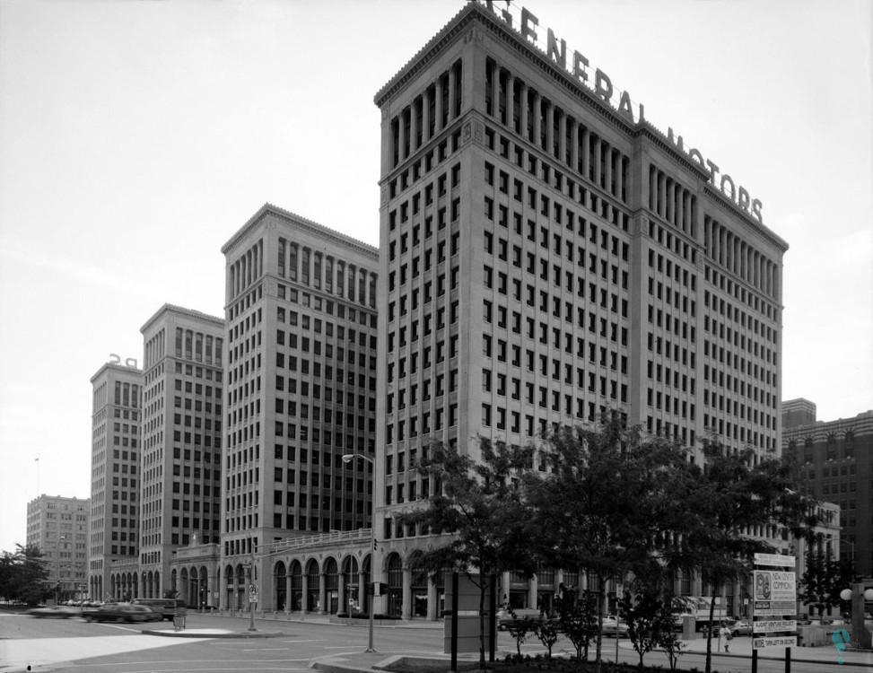 Edificio de la General Motors (actualmente Cadillac Place)
