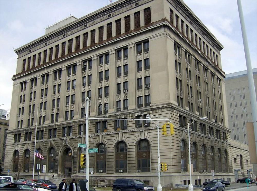 Oficinas centrales del Departamento de Policía de Detroit