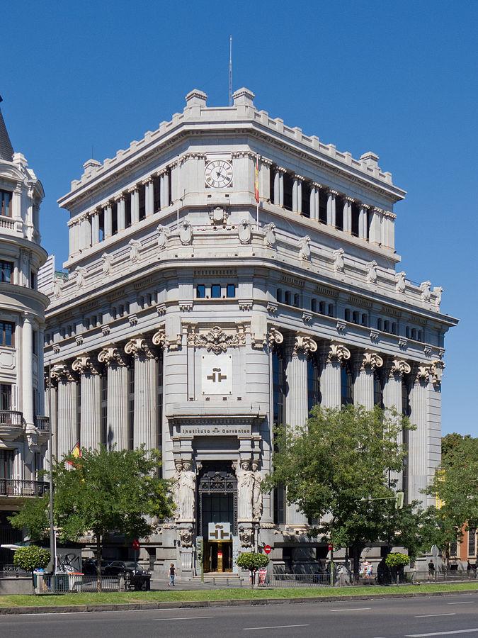 Edificio de las Cariátides, sede del Instituto Cervantes