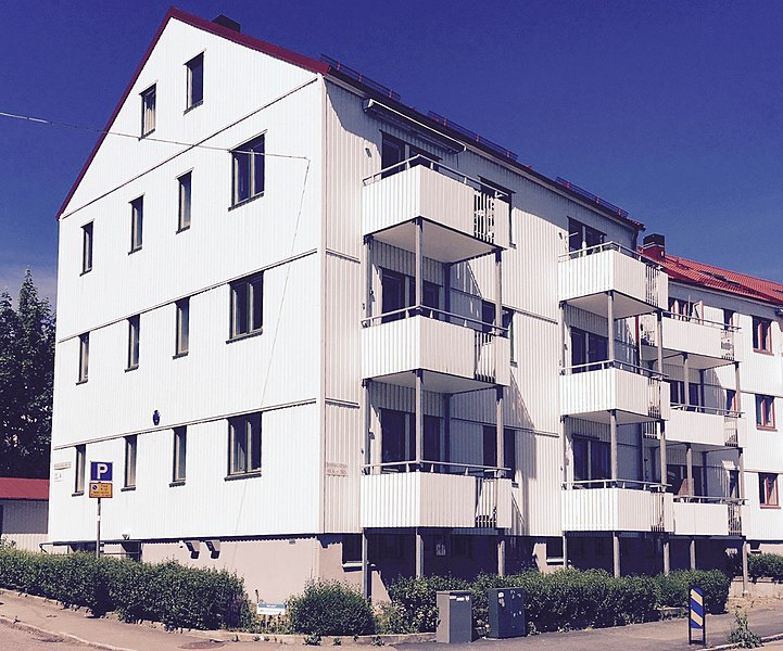 Edificio residencial para HSB