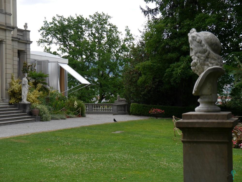 Pabellón temporal en el Museo Rietberg