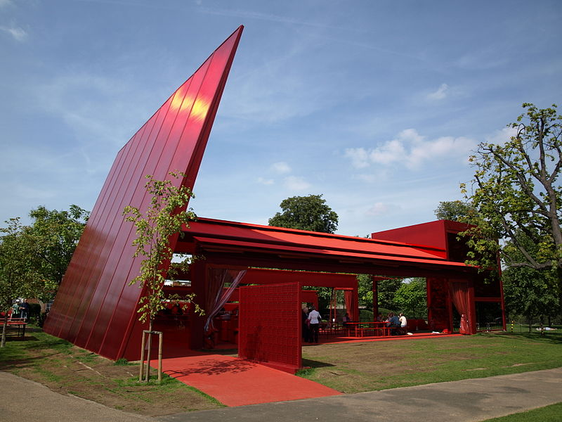 Pabellón de la Serpentine Gallery 2010 (Red Sun Pavilion)