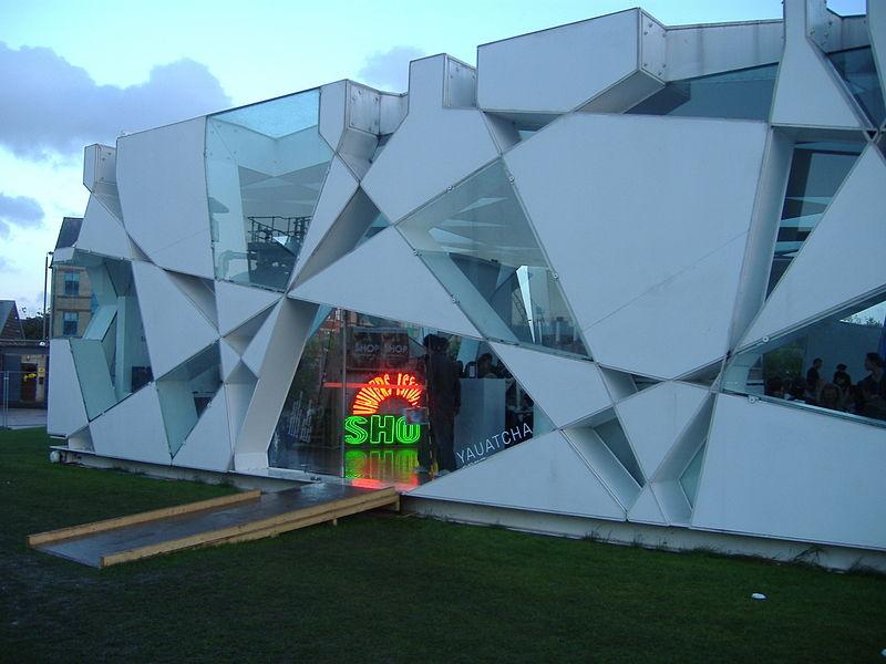 Pabellón de la Serpentine Gallery 2002