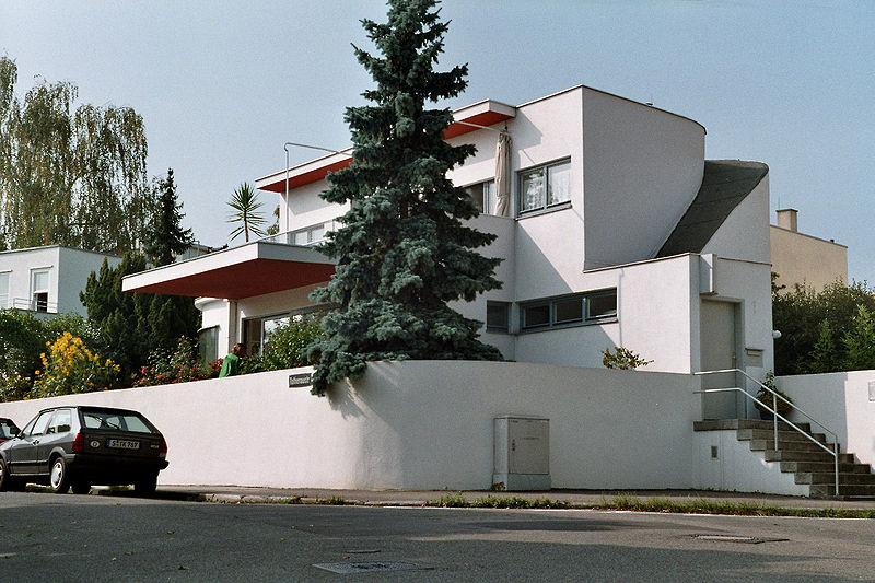 """Casa  """"Die Wohnung"""" (la vivienda) para la Weissenhofsiedlung"""