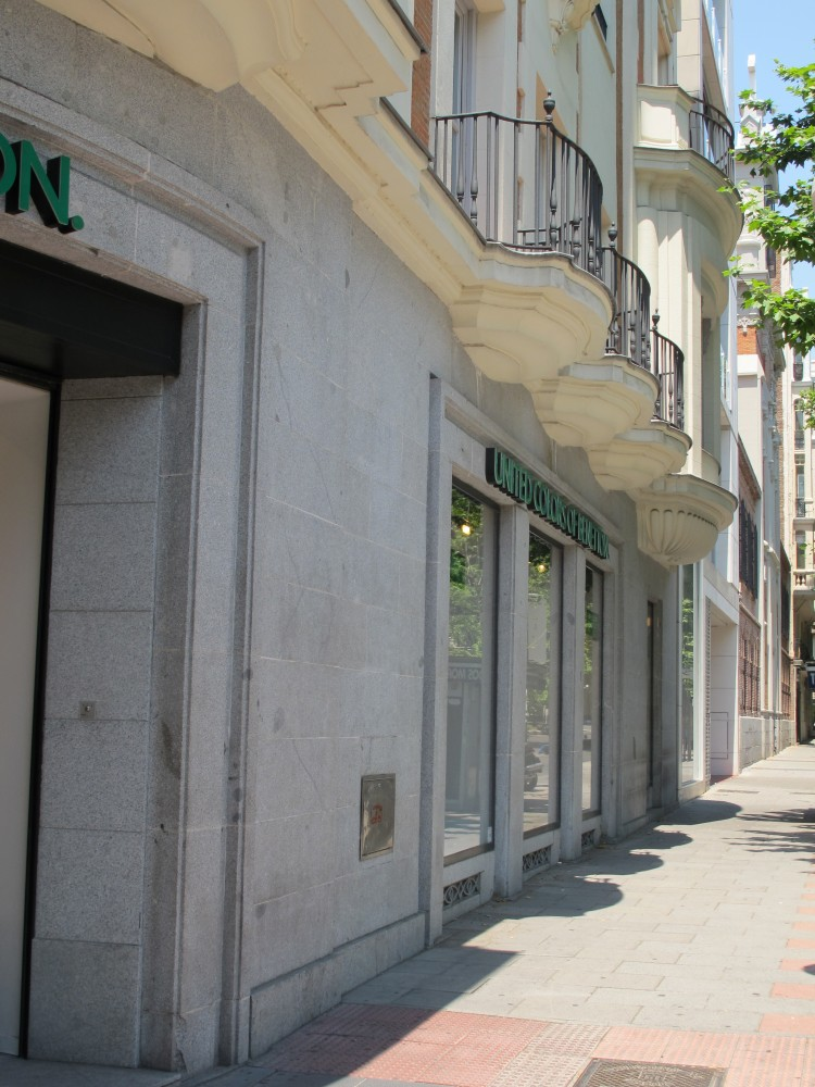 Edificio de Viviendas en la calle Goya 63
