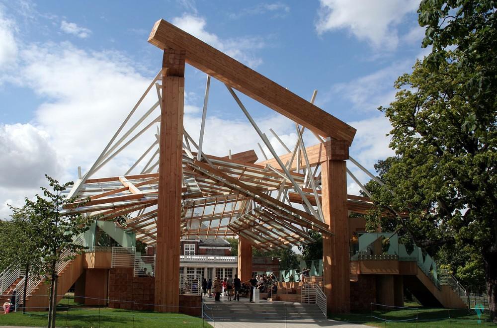 Pabellón de la Serpentine Gallery 2008