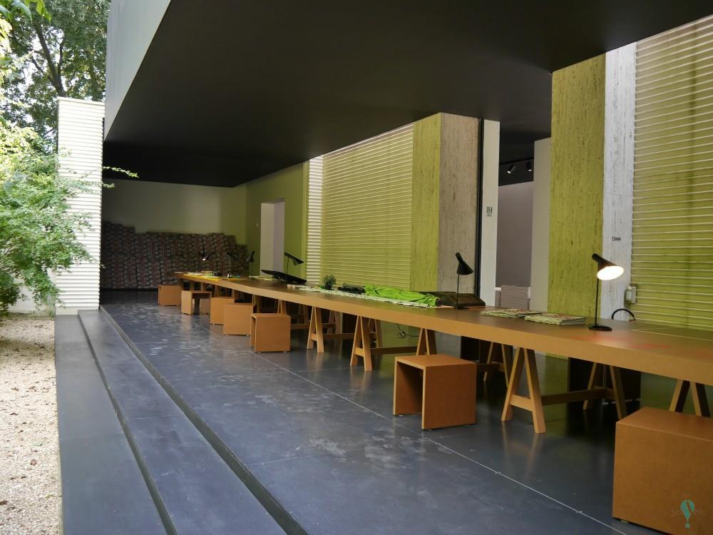 Restauración del Pabellón de Austria de Joseph Hoffmann de la Bienal de Venecia