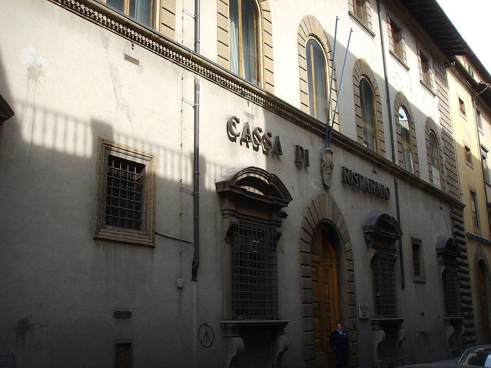 Sede central de la Casa de Ahorros de Florencia