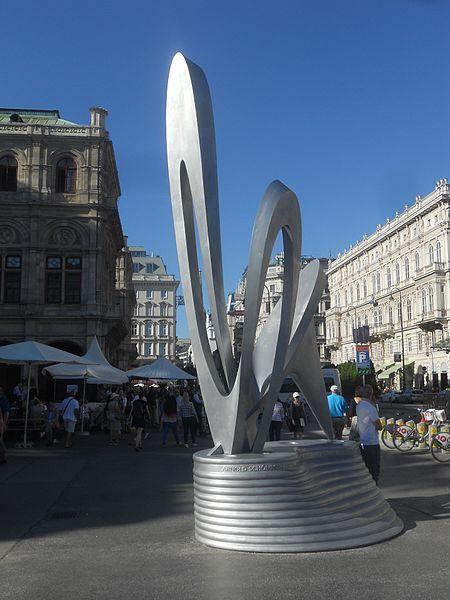 Escultura Alban Berg