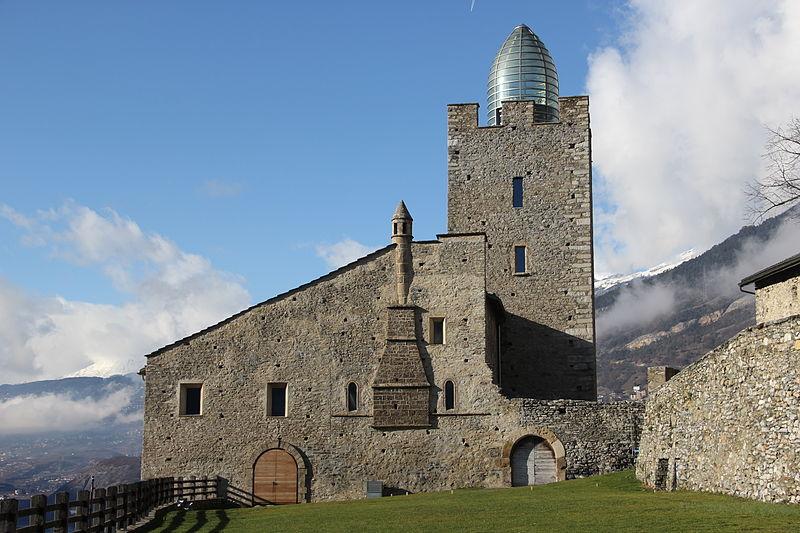 Restauración del castillo de Leuk