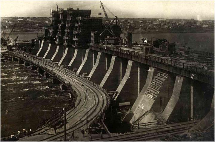 Estación hidroeléctrica Dnieper