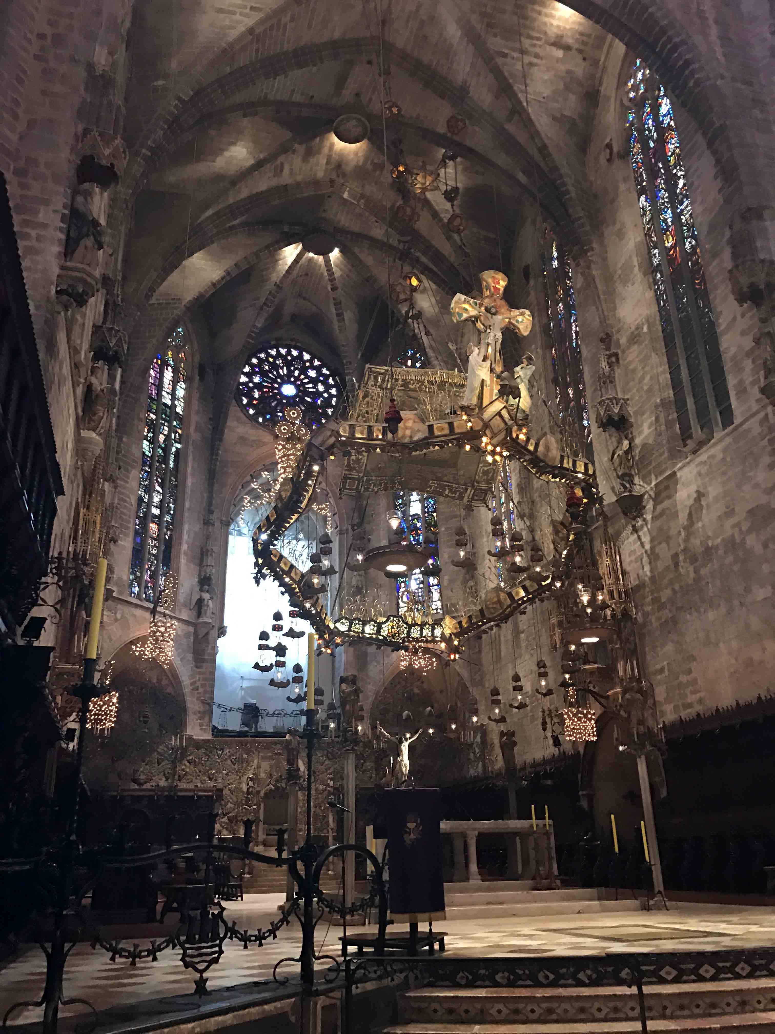 Restauración de la Catedral de Mallorca
